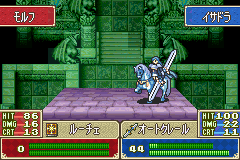 Fire Emblem - FE7if - Battle  -  - User Screenshot